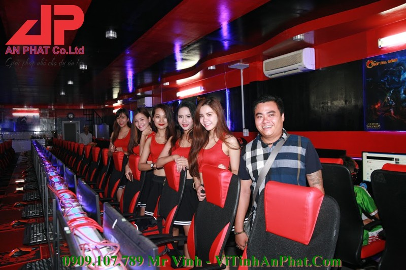 CyberAll Game Leo Gaming Tan Phú