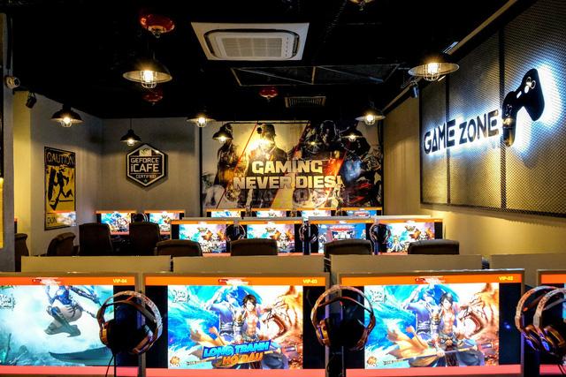 phòng net phong cách korea