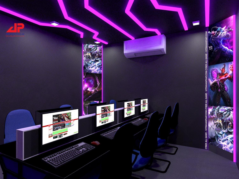thiết kế phòng game 2019