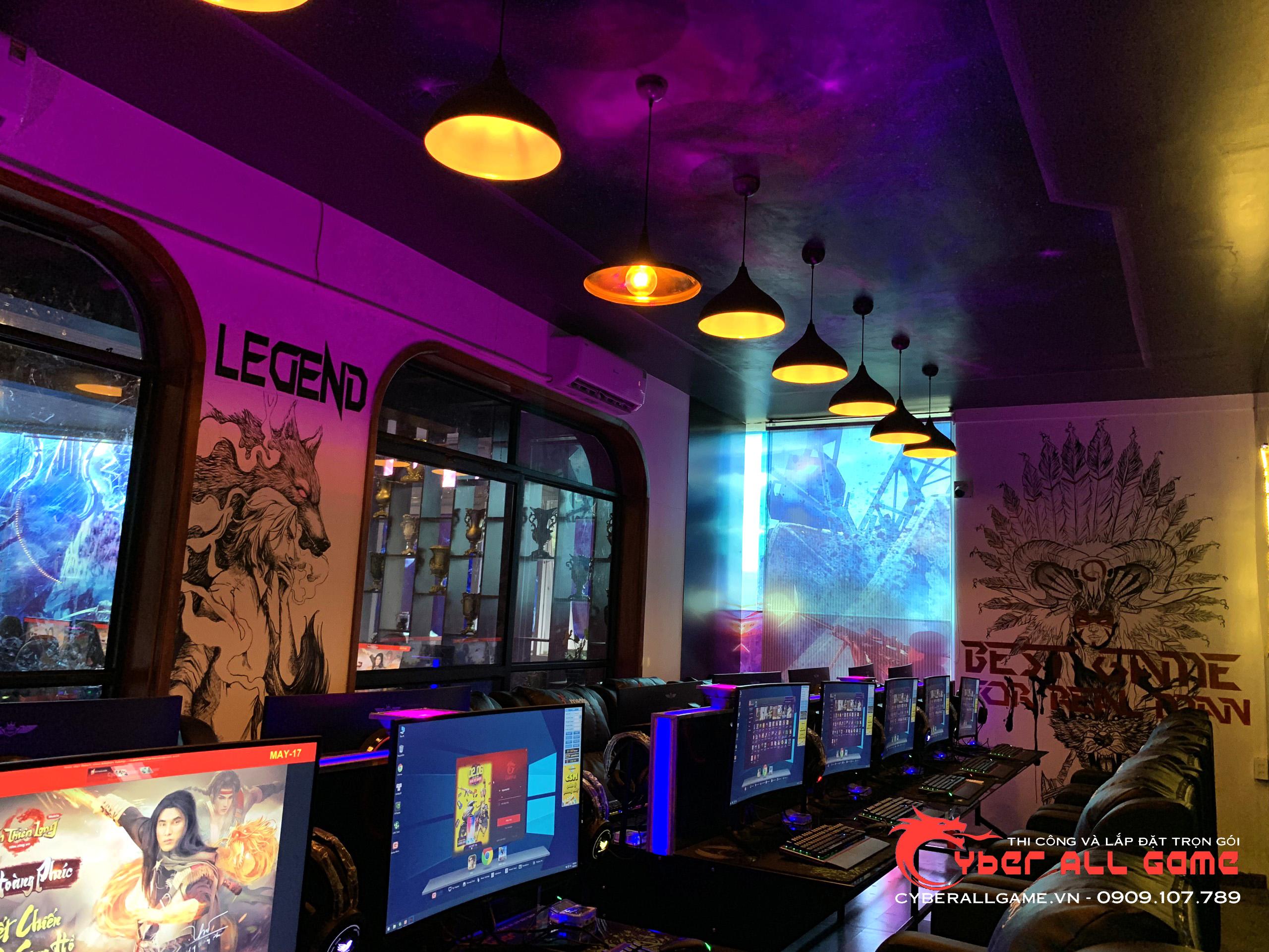 cấu hình máy tính kinh doanh phòng game năm 2021