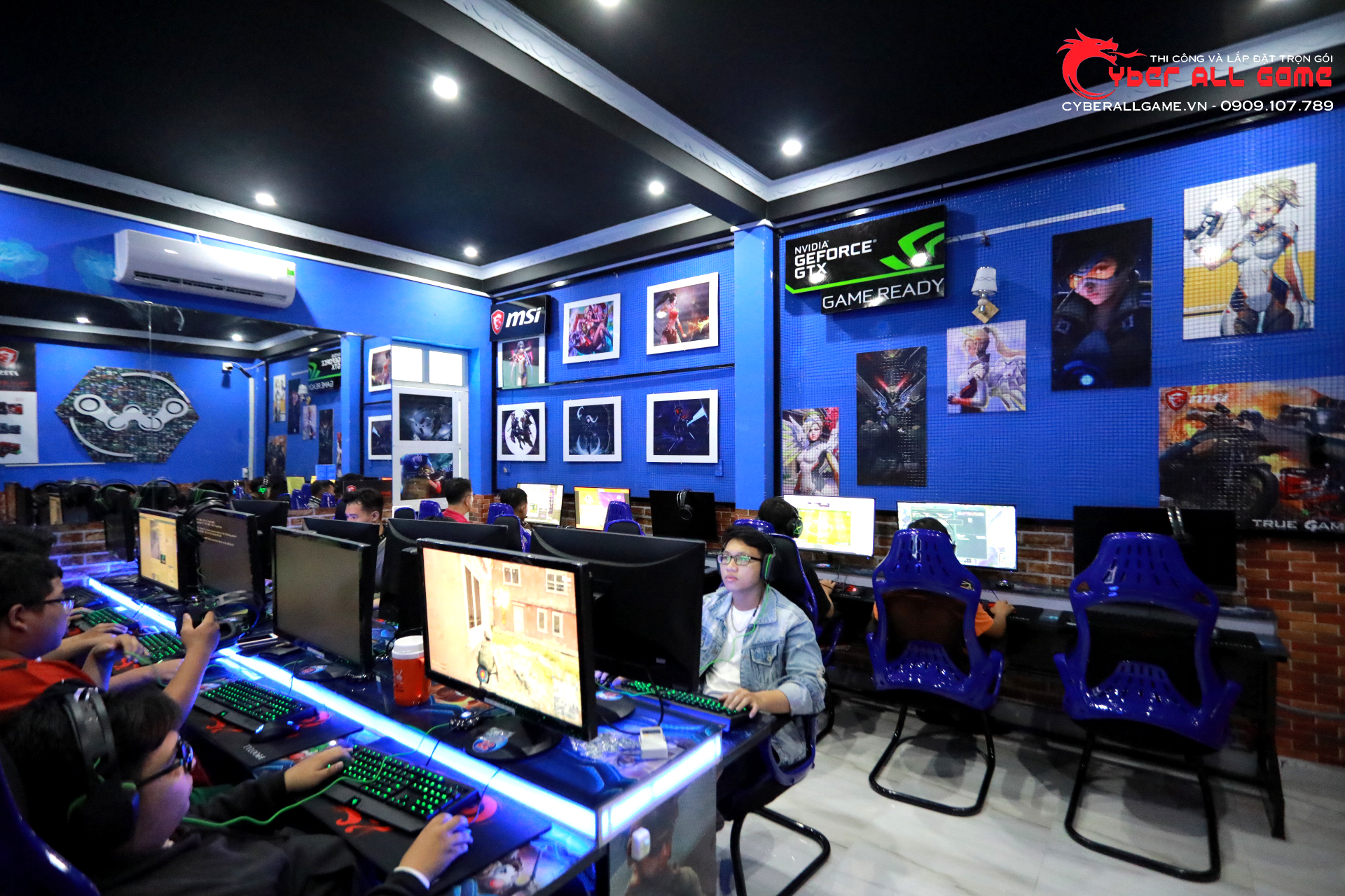 phòng game cao cấp