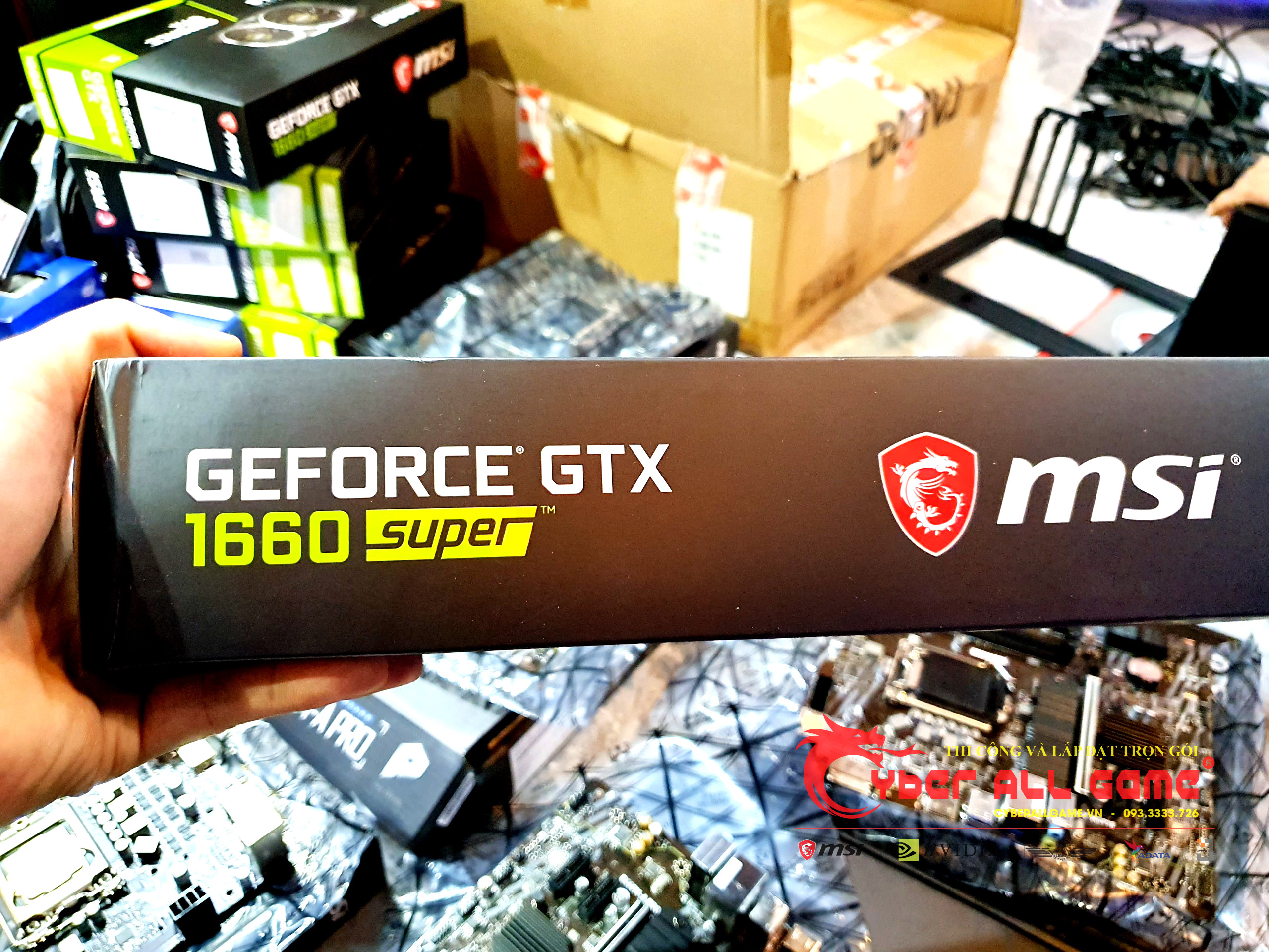 VGA MSI GTX 1660 Super 6GB