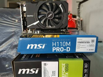 Combo MSI H110 Pro-D + Vga 1050 2GD5 + CPU G4560 Siêu Hot