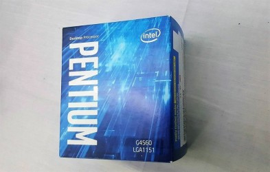 CPU Intel Pentium G4560 3.5 GHz 3MB  Series Graphics Socket 1151 (Kabylake)