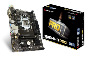 Mainboard Biostar H310MHD PRO Best Budget Gaming Coffee Lake