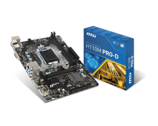 Mainboard MSI H110M PRO-D Chiến Binh Cyber All Game