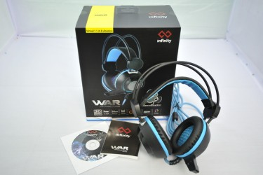 Tai Nghe Infinity War RGB Led -Virtual 7.1 Vibration Gaming Headset
