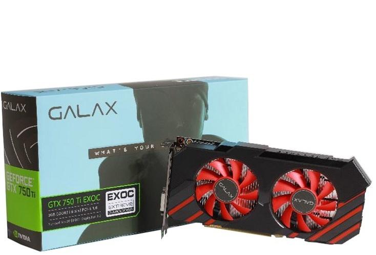 Kết quả hình ảnh cho VGA GALAX GTX750TI 2GB