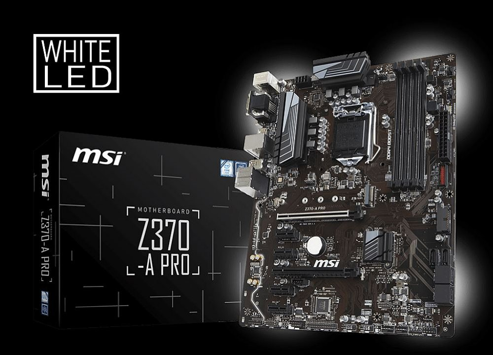 Kết quả hình ảnh cho Main MSI Z370 A-PRO